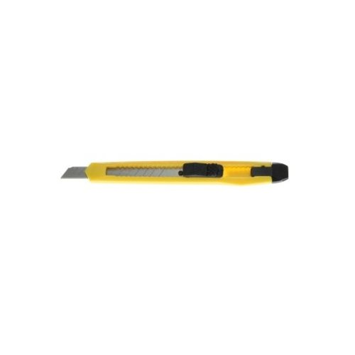 Yellow cutter knife plastic - 9mm