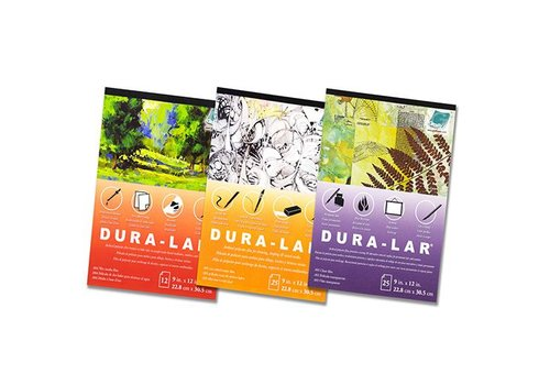 "Grafix Grafix - Dura-Lar Wet Media - 9""x12"" pad of 12 sheets"