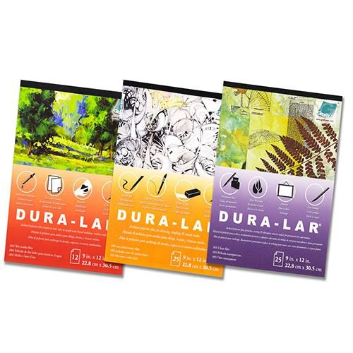 """Grafix - Dura-Lar Wet Media - 9""""x12"""" pad of 12 sheets"""