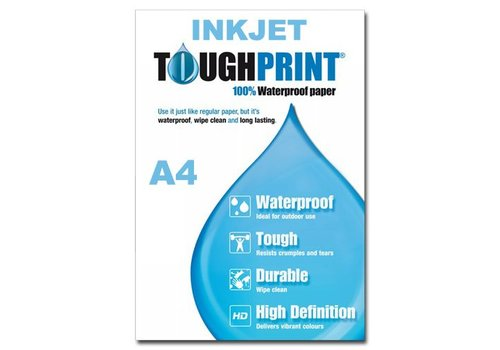 Inkjet - Toughprint Teslin Waterproof paper A4 - 10 sheets