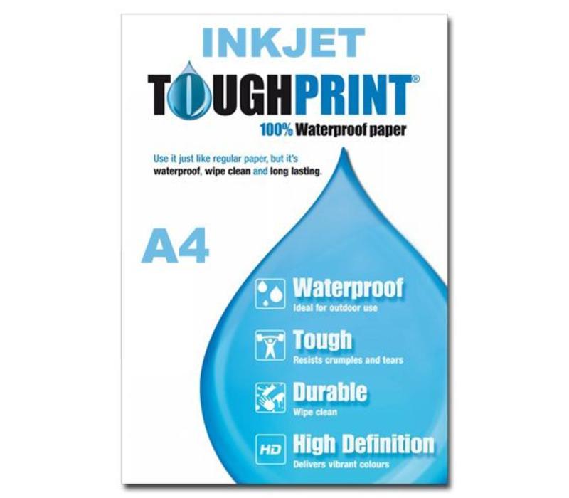 Inkjet - Toughprint Teslin Waterproof paper A4 - 10 sheets