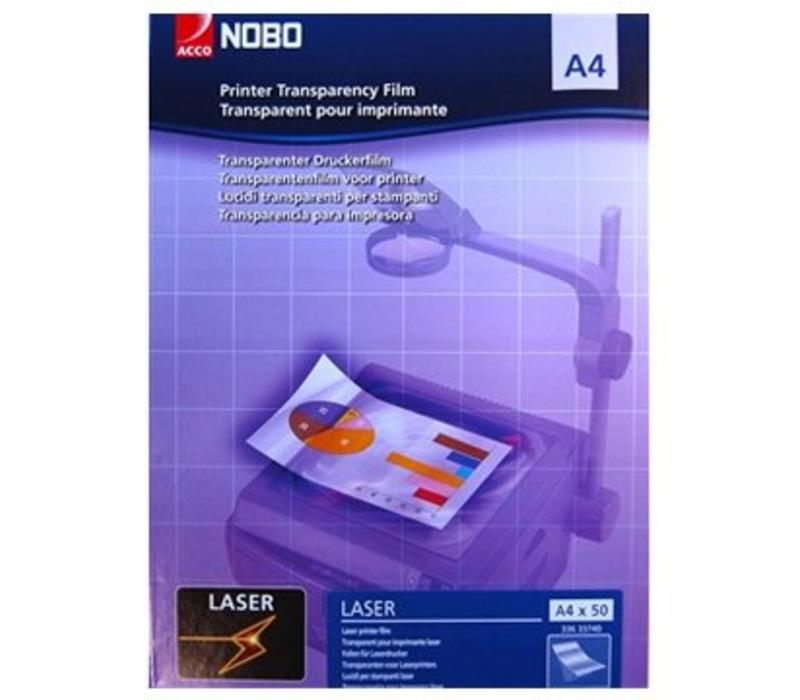 Laser - Overhead Projector sheets - A4 - 10 sheets