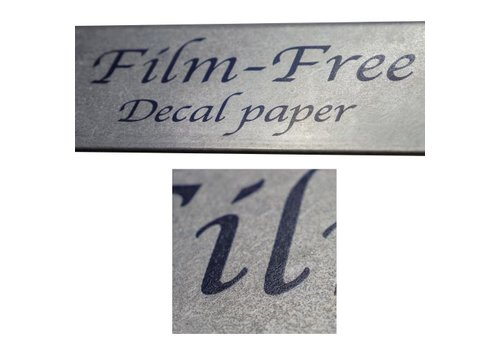 Sunny Papers Laser - Sunny Film-free Decal Paper - per 5 sheets