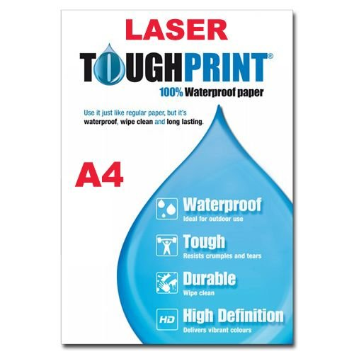 Laser - Toughprint Teslin Waterproof paper A4 - 10 sheets