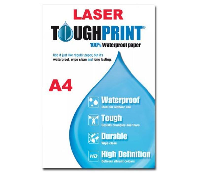 Laser - Toughprint Teslin - watervast papier A4 - 10 vellen