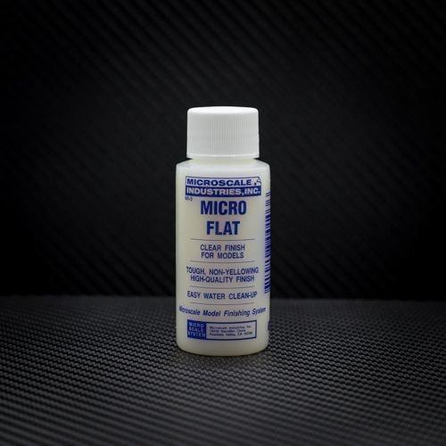 MicroScale - Micro Flat - Flesje a 1oz/29.5ml