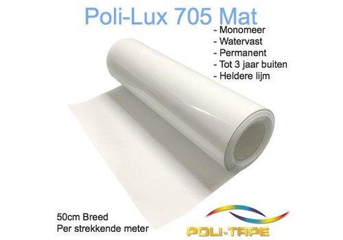 Poli-Lux 705 - Monomeer laminaat folie mat - 50cm breed, per meter