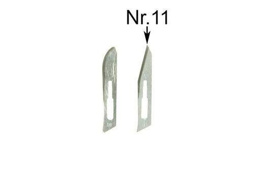 Reservemesjes nr11 voor scalpel SC3 - pakje a 5 mesjes