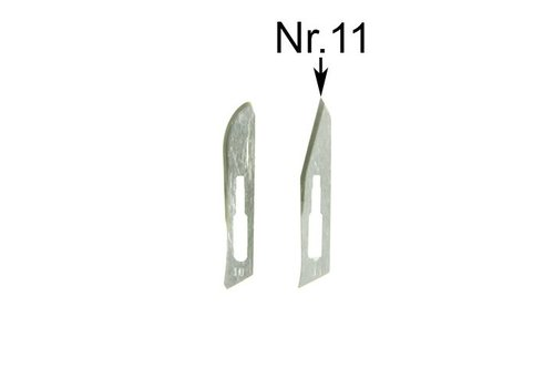 Spareblades nr11 for scalpel SC3 - pack of 5 blades