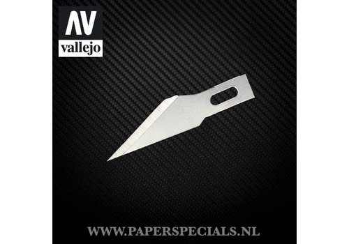 Vallejo Vallejo - #11 Fine point blades - Pak van 5 mesjes