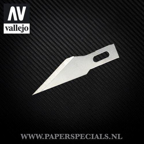 Vallejo - #11 Fine point blades - Pack of 5 blades