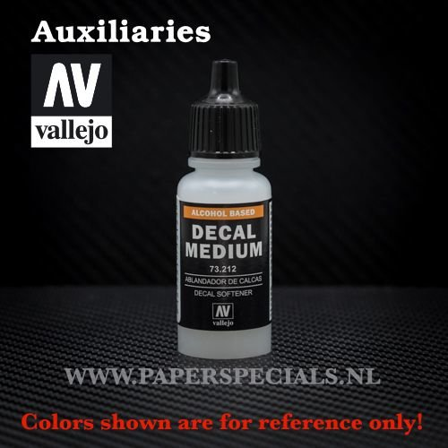 Vallejo - Decal Softener/Medium 17ml
