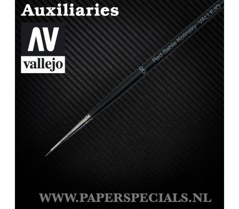 Vallejo - Kolinsky Sable Brush #10/0