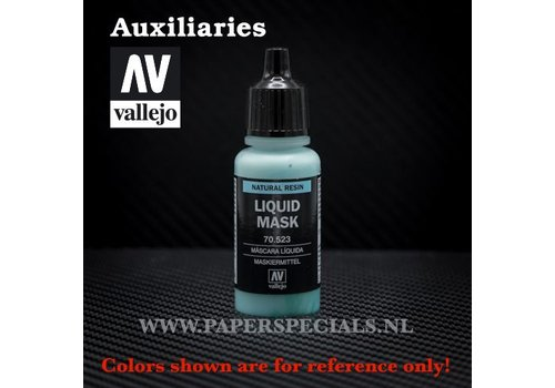 Vallejo Vallejo - Liquid Mask 17ml
