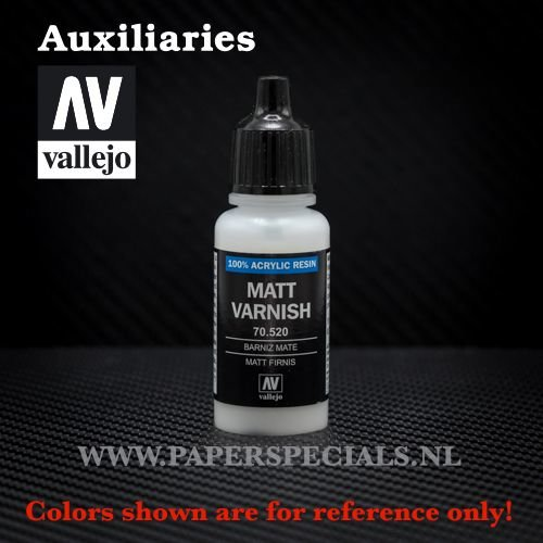 Vallejo - Matt Varnish - 17ml
