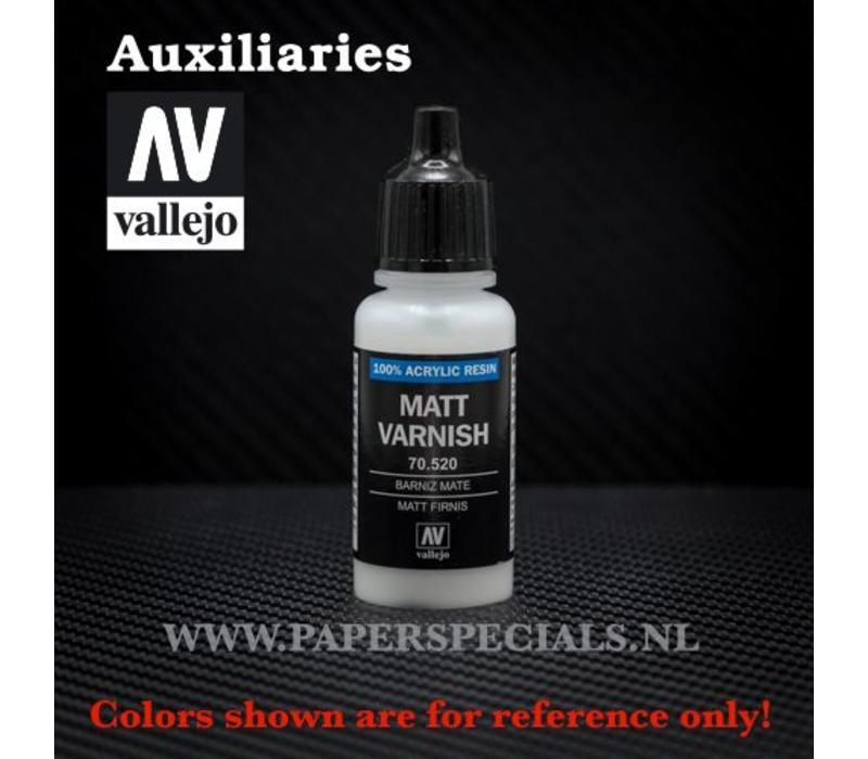 Vallejo - Matt Varnish - 17ml