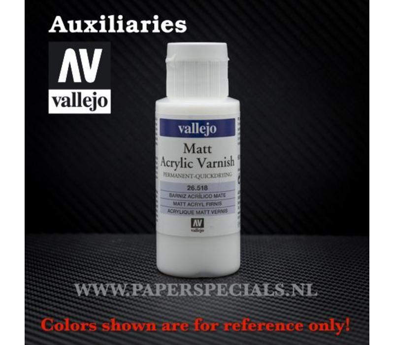 Vallejo - Matt Varnish - 60ml