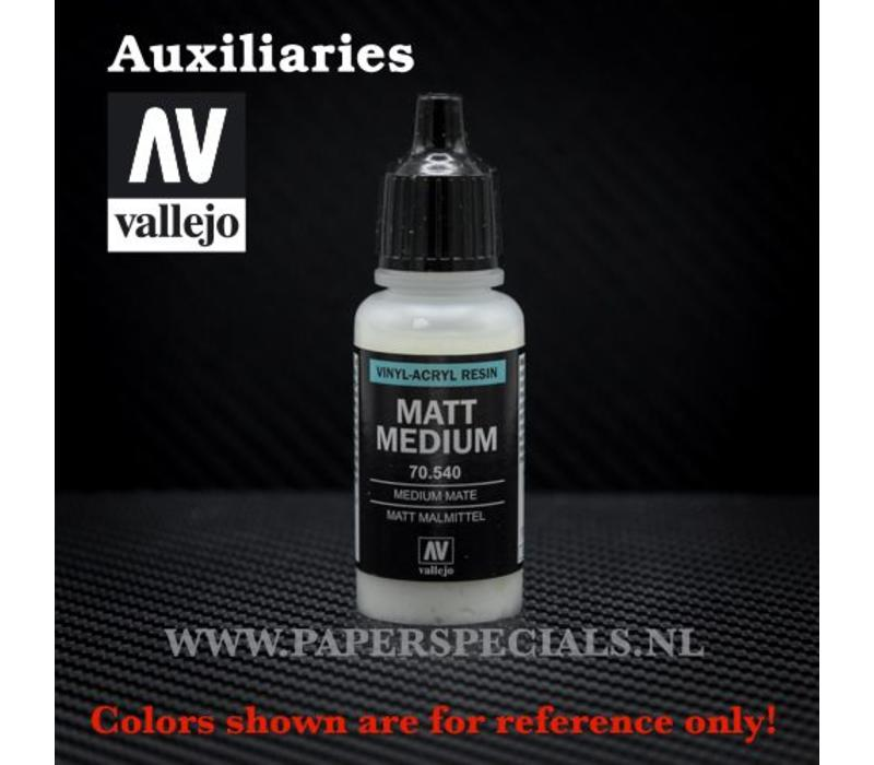 Vallejo - Matte Medium 17ml