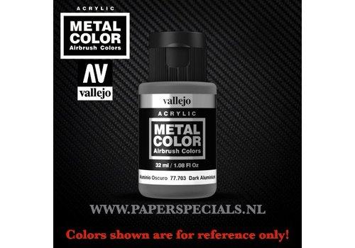 Vallejo Vallejo - Metal Color 35ml - 77.703 Dark Aluminium