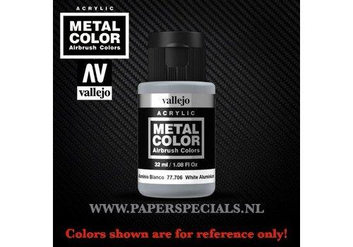 Vallejo Vallejo - Metal Color 35ml - 77.706 White Aluminium