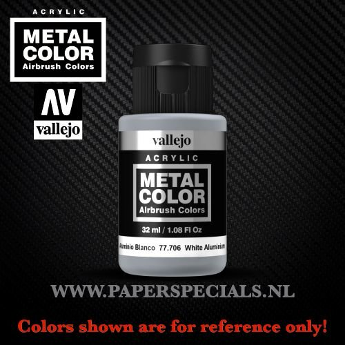 Vallejo - Metal Color 35ml - 77.706 White Aluminium