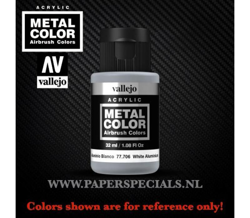 Vallejo - Metal Color 35ml - 77.706 White Aluminium