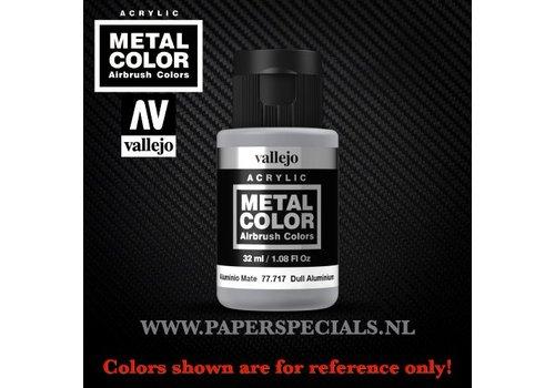 Vallejo Vallejo - Metal Color 35ml - 77.717 Dull Aluminium