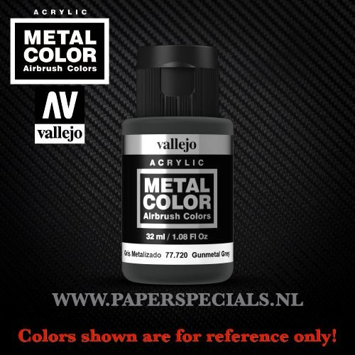 Vallejo - Metal Color 35ml - 77.720 Gunmetal Grey
