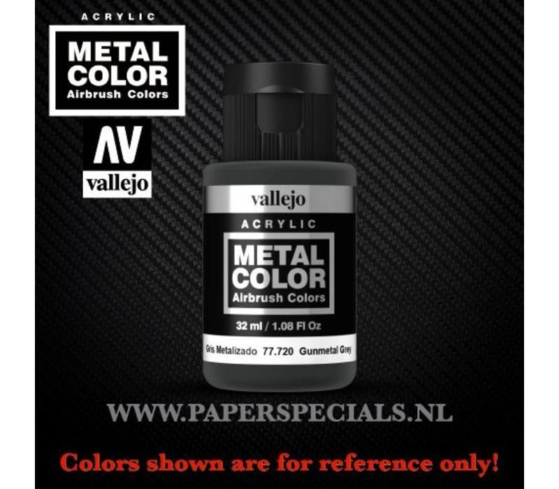 Vallejo - Metal Color 35ml - 77.720 Gunmetal Grey