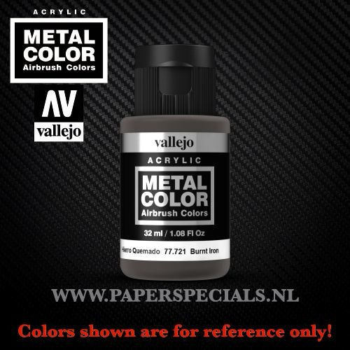 Vallejo - Metal Color 35ml - 77.721 Burnt Iron