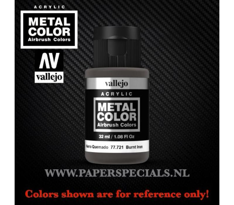 Vallejo - Metal Color 35ml - 77.721 Burnt Iron
