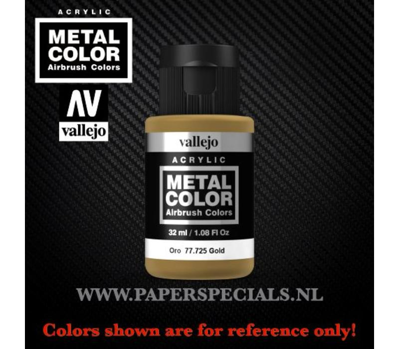 Vallejo - Metal Color 35ml - 77.725 Gold