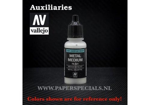 Vallejo Vallejo - Metal Medium - 17ml