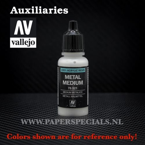 Vallejo - Metal Medium - 17ml