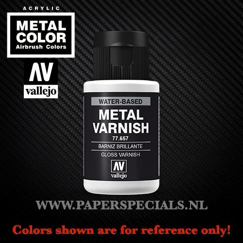 Vallejo - Metal Varnish 35ml - 77.657 Gloss