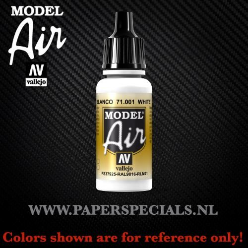 Vallejo - Model Air 17ml - 71.001 White