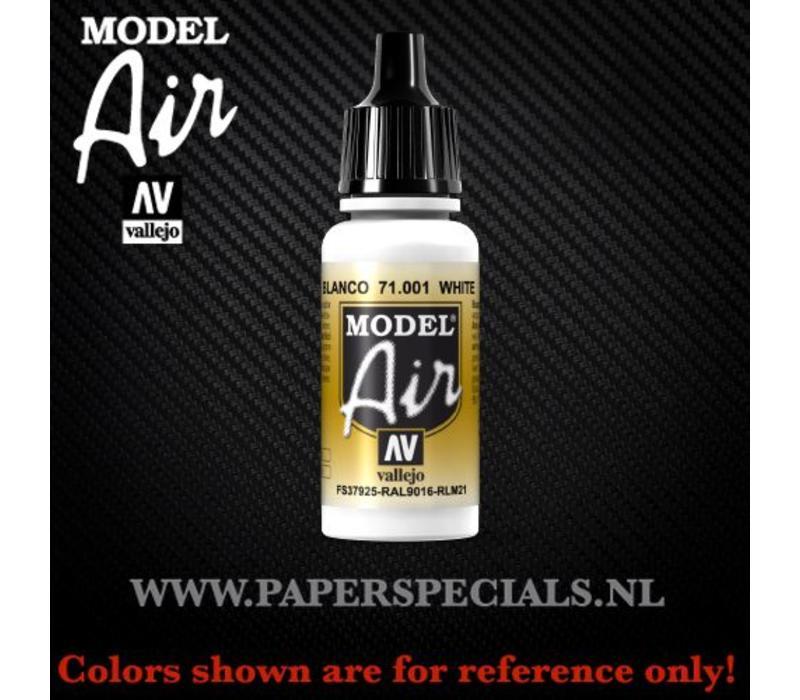 Vallejo - Model Air 17ml - 71.001 White