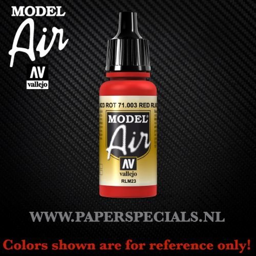 Vallejo - Model Air 17ml - 71.003 Red RLM23