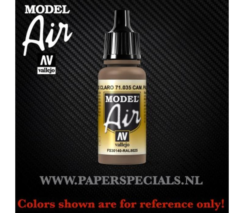 Vallejo - Model Air 17ml - 71.035 Camouflage Pale Brown