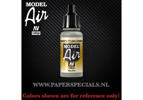 Vallejo Vallejo - Model Air 17ml - 71.045 Cement Grey