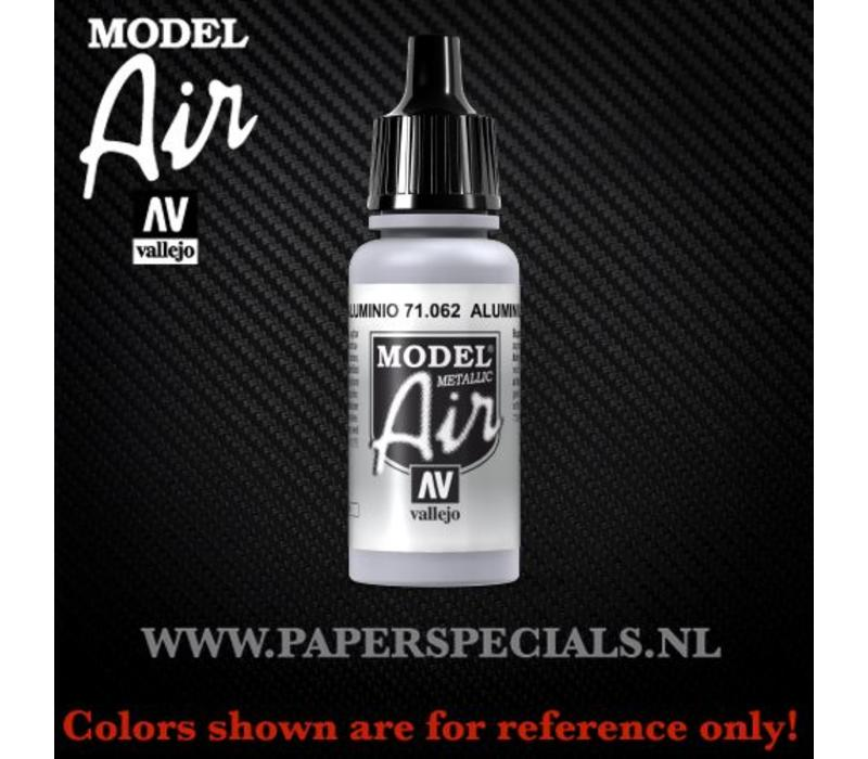 Vallejo - Model Air 17ml - 71.062 Aluminium (Metallic)