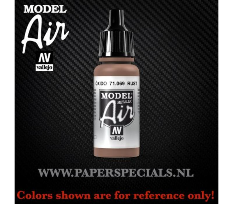 Vallejo - Model Air 17ml - 71.069 Rust (Metallic)
