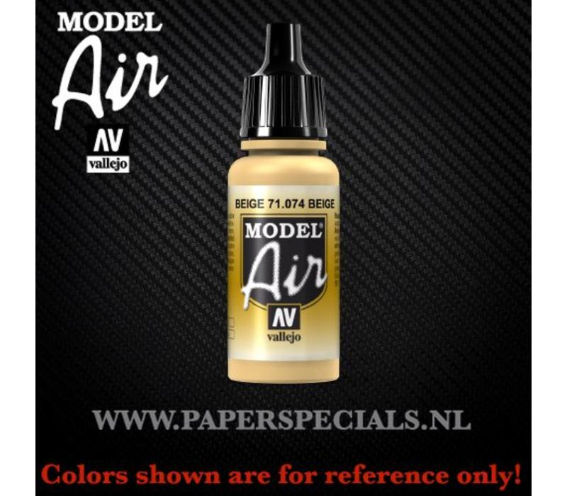 Vallejo - Model Air 17ml - 71.074 Beige