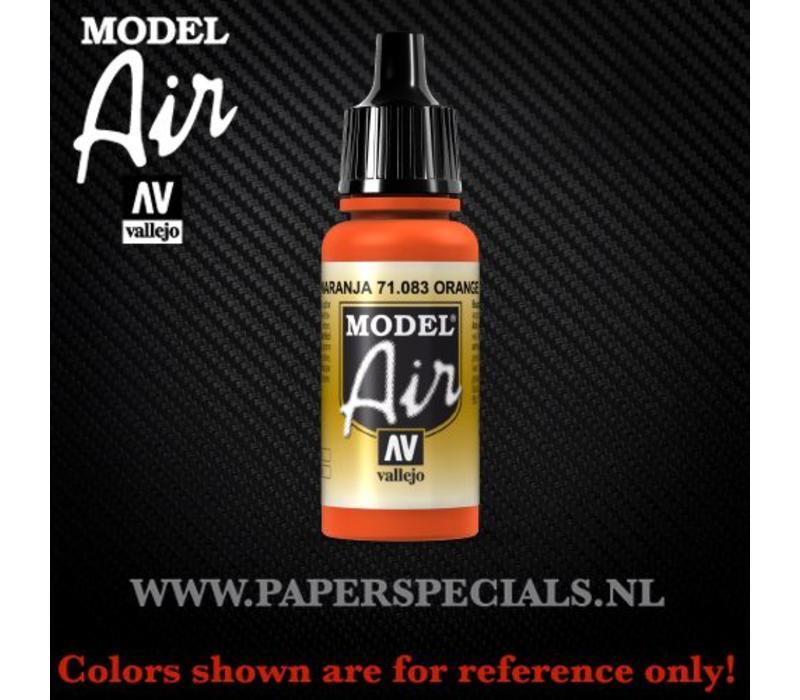 Vallejo - Model Air 17ml - 71.083 Orange