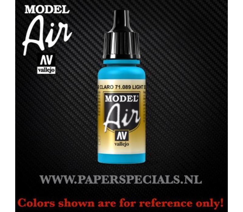 Vallejo - Model Air 17ml - 71.089 Light Sea Blue