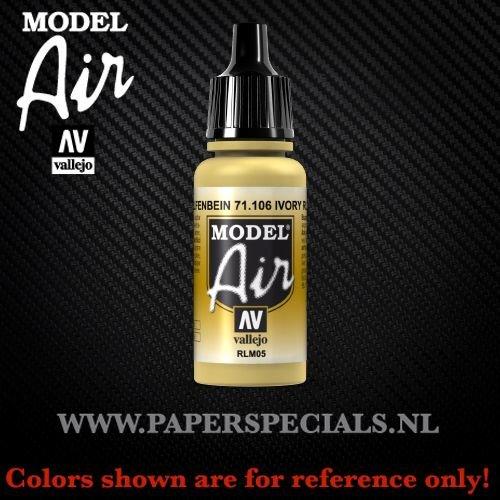 Vallejo - Model Air 17ml - 71.106 Ivory RLM05