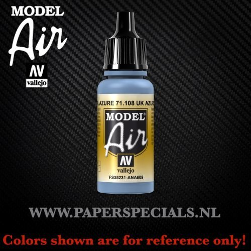 Vallejo - Model Air 17ml - 71.108 UK Azure Blue