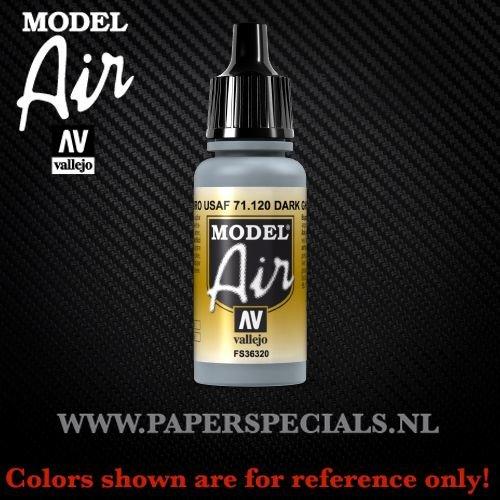 Vallejo - Model Air 17ml - 71.120 Dark Ghost Gray