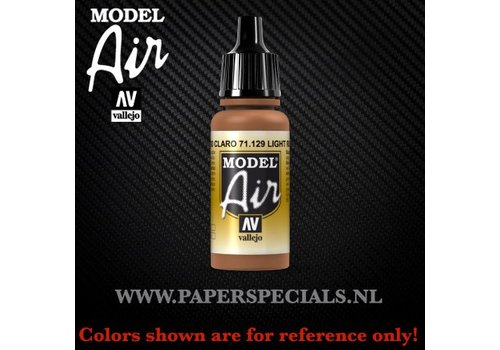 Vallejo Vallejo - Model Air 17ml - 71.129 Light Rust