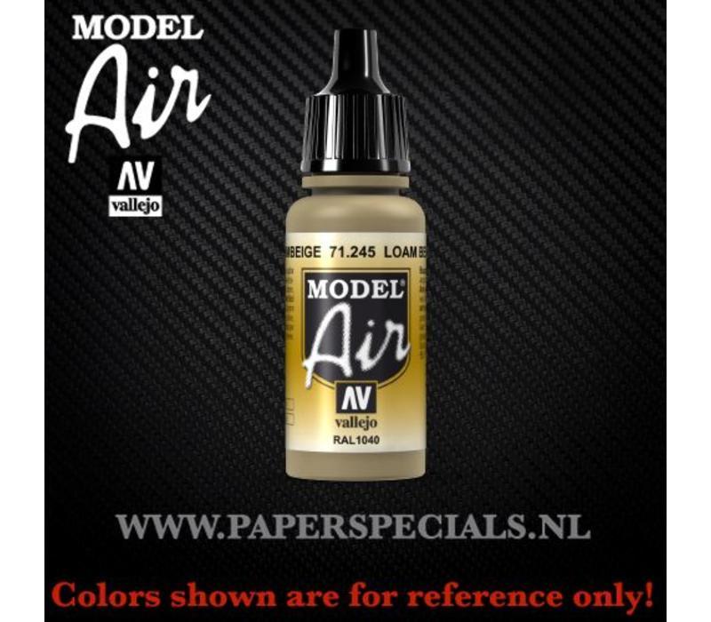 Vallejo - Model Air 17ml - 71.245 Loam Beige